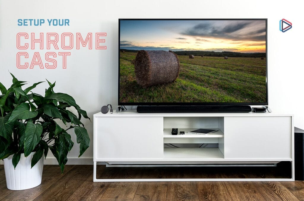 Television on a stand in a home.